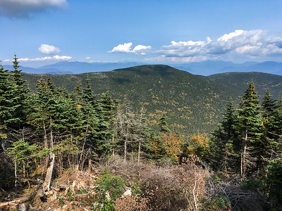 White Mountain view from Gorge Brook trail, Mount Moosilauke. Photo by David Kotz '86.