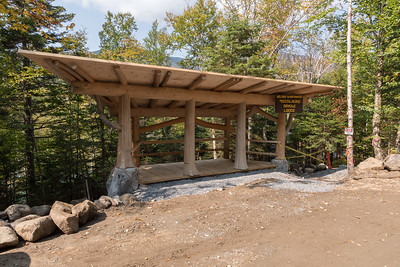 Gazebo roof and floor added. Moosilauke Ravine Lodge. Photo by David Kotz '86.