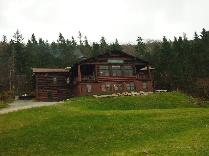First snowfall of the year at Moosilauke.