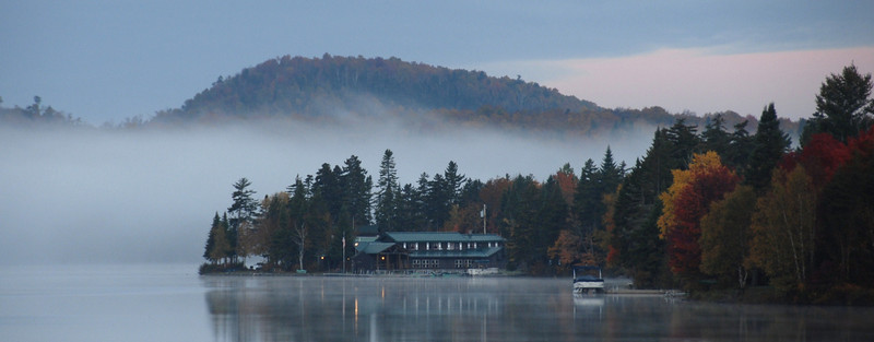 Autumn sunrise at Tall Timber. Photo by: Don Southern
