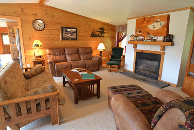 Lakeview cabin at Tall Timber, Pittsburg, NH.