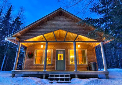 Tall Timber Cabin Front
