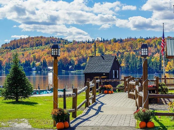 Fall at Tall Timber Lodge