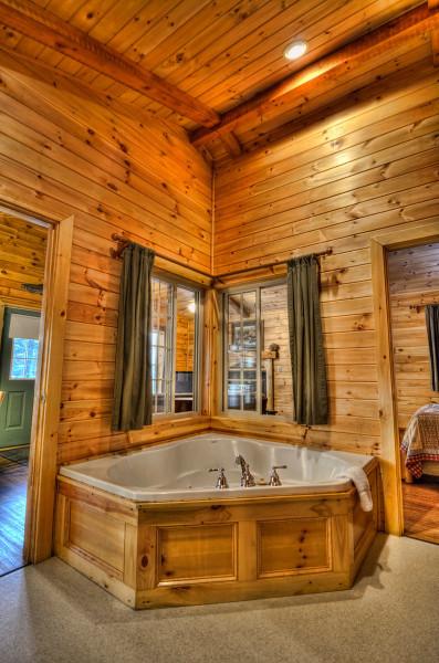 Hot Tub At Tall Timber Lodge
