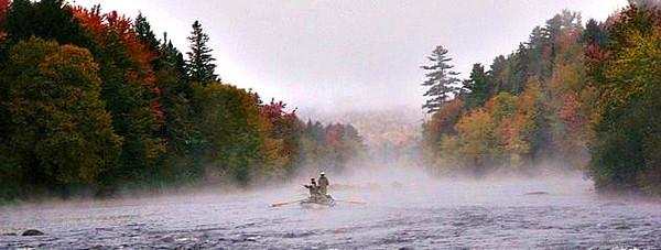 Drifting the Androscoggin River, Fall 2012. Photo: C Stumb