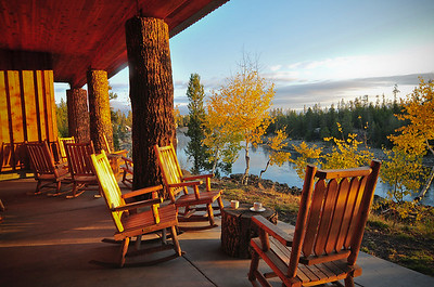 Henry's Fork Lodge, Idaho