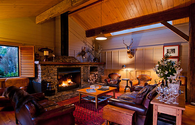 Poronui Ranch lodge, North Island, New Zealand