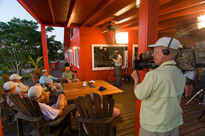 """Pirates of the Flats"" TV movie being shot at Abaco Lodge, Bahamas"