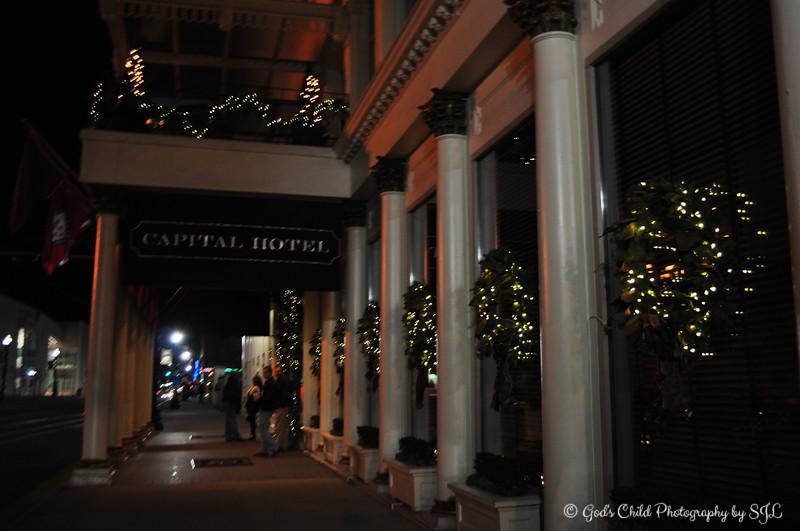 """1st floor<br /> <br />  Historic """"Capital Hotel""""<br />  Little Rock, AR"""