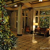 "1st floor - Christmas tree reflections<br /> <br />  Historic ""Capital Hotel""<br />  Little Rock, AR"