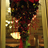 CHRISTMAS DECORATIONS, 2011<br />  <br /> Hanging Wreath - 1<br /> <br /> Peabody Little Rock<br />  Little Rock, AR