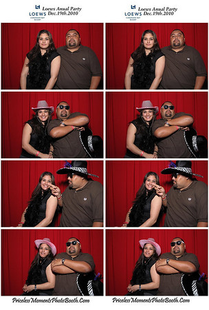 Loews Holiday Party Indivituals
