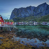 Stilt Houses On Green Lake, Reine