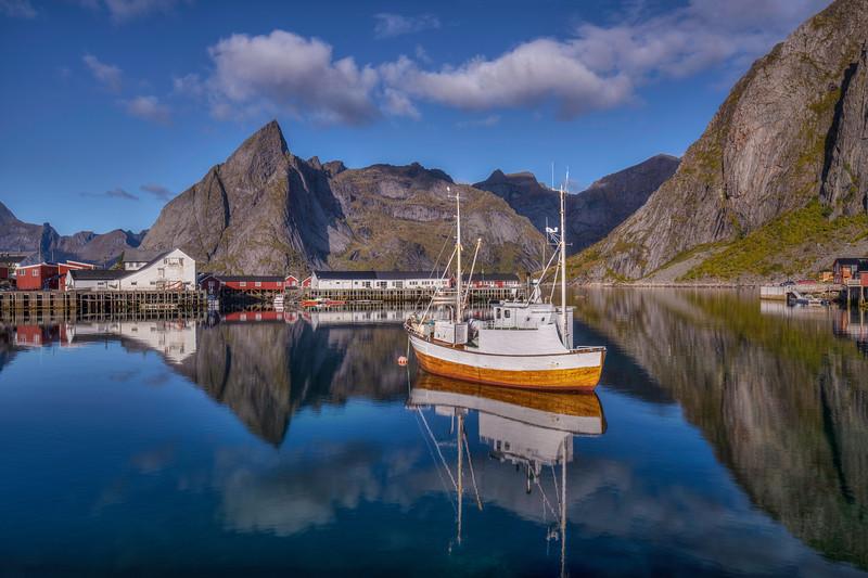 Fishing Boat, Hamnoy