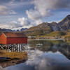 Fisherman's Hut And Rowboat, Sund