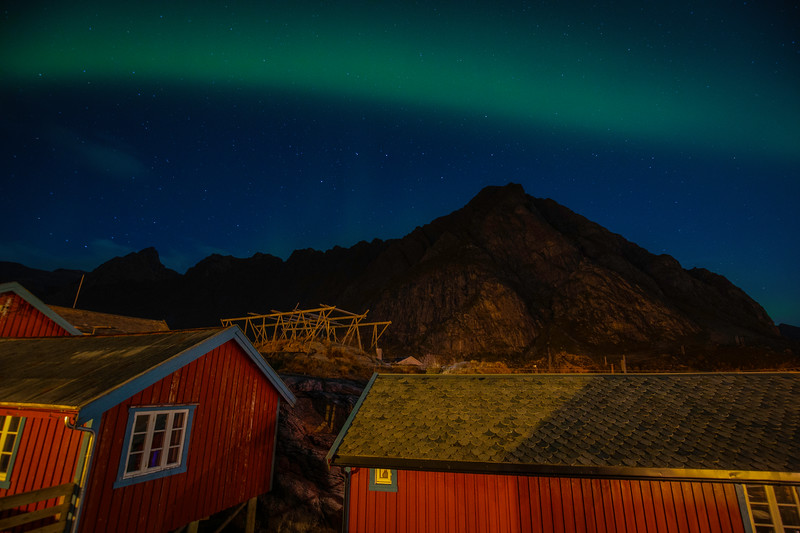 Northern Lights With Big Dipper