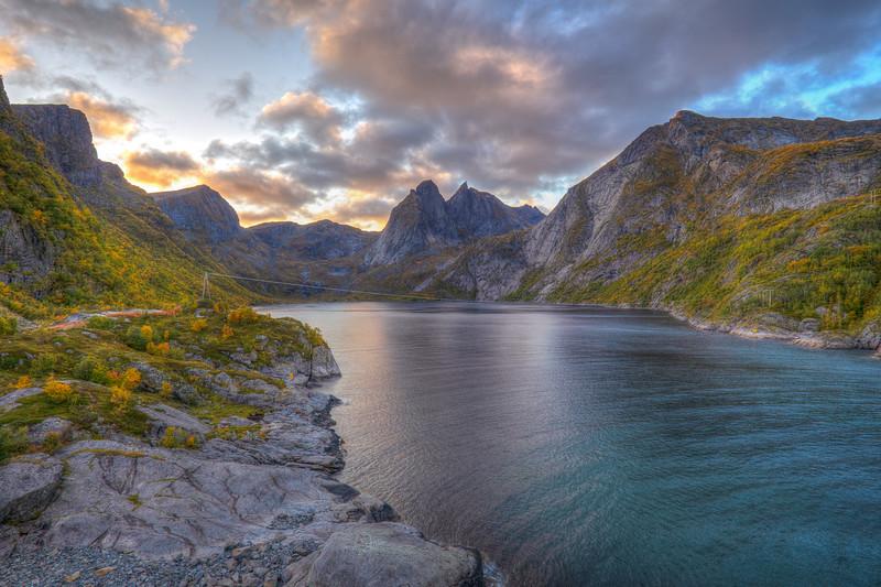 Fjord, Reine