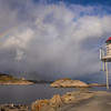 Lighthouse With Rainbow, Vagar