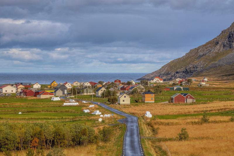 Road To Unstad Beach