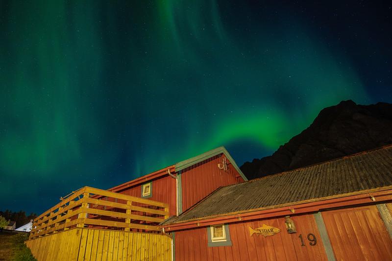 "Northern Lights, Hut 19,  ""A"""