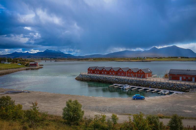 Red Huts Blue Valkswagan, Henningsvaer