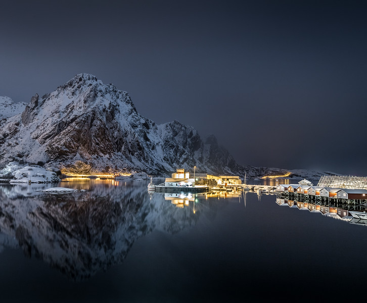 Midnight in Lofoten - Svolvær, Norway