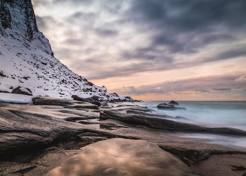 On the Rocks! - Uttakleiv Beach, Lofoten