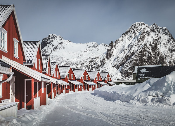 Red & White - Lofoten, Norway