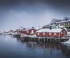 When it snows in Lofoten!