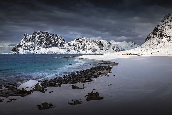 Winter Seascape! - Uttakleiv Beach, Lofoten, Norway