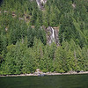 Friel Falls, in July during charter trip of Egmont Highlights.