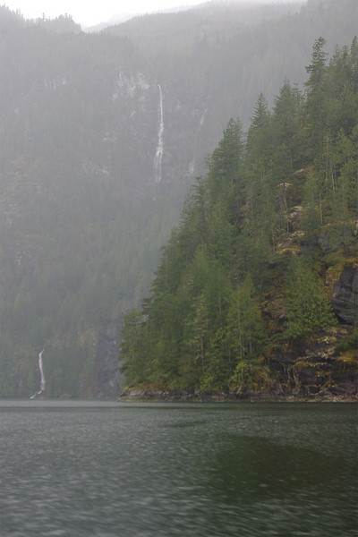 Beautiful, moody days in Princess Louisa Inlet.