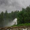 Maximum water in Chatterbox Falls.