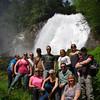 Destination BC group - Chatterbox Falls