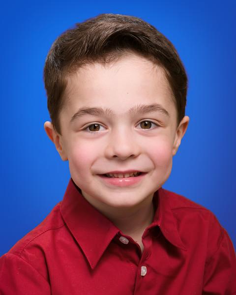 Fifth Birthday Portrait