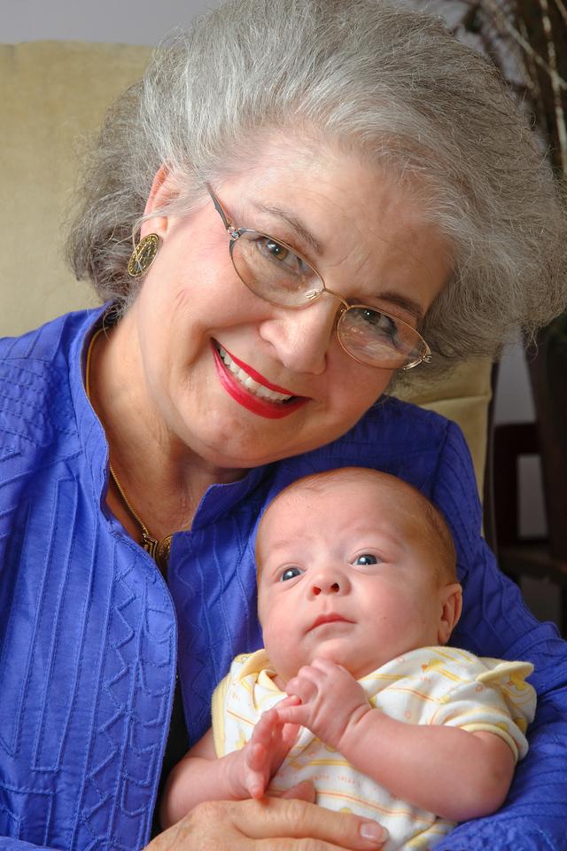 Grandma June comes to visit Logan.<br /> <br /> Nov. 24, 2009