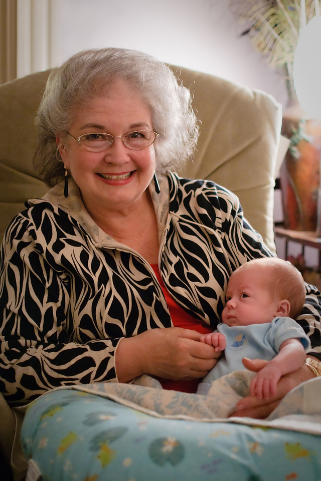 Grandma June comes to visit Logan.<br /> <br /> Nov. 24, 2009