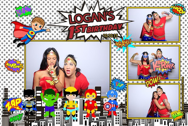 Logan's 1st Birthday (Fusion Photo Booth)