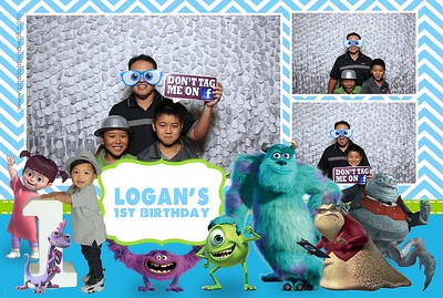 Logan's 1st Birthday Celebration (Fusion Photo Booth )