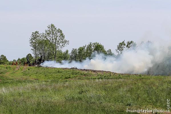 Logging Equipment Fire, Hantsport, June 25, 2016
