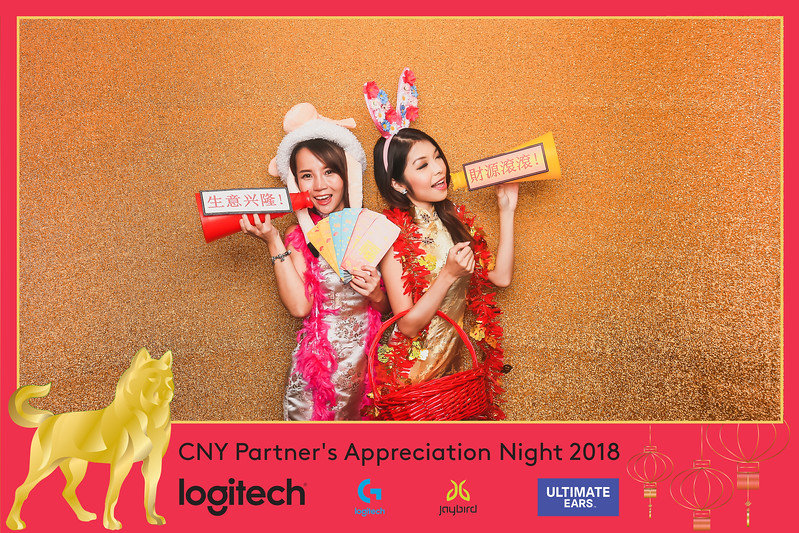 © Logitech Partner's Appreciation Night 2018 | SRSLYPhotobooth.sg