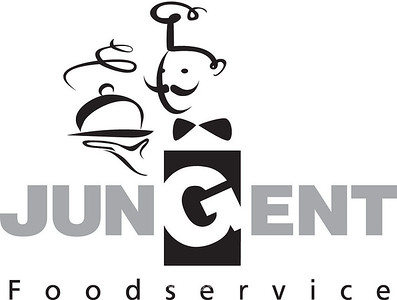 Jungent Foodservice Black and Grey version jpg format. ai and psd available also