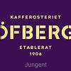 Löfbergs Lila logo on 1 line