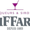 Giffard Liqueurs & Sirops white background .jpg logo<br /> Rosa C50 M100 J0 N0 or 253C pantone; <br /> Grey C15 M0 J0 N70 or 7545C pantone