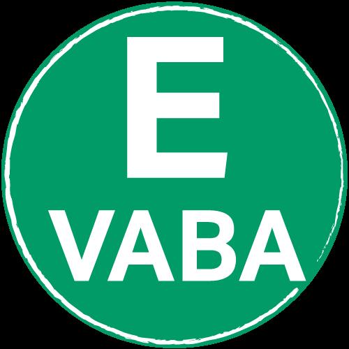 E-vaba logo
