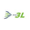 Via 3L logo (available formats jpg, .cdr, .ai). green (RGB 153, 192,0; CMYK 50, 0, 100, 0 %; RAL 6018), blue (RGB 0,35,77; CMYK 100,48,0,70 %; RAL 5026); roheline #99ca3c; sinine #1c3664; HALL-GREY (RAL 7045; CMYK 49,40,38,4)