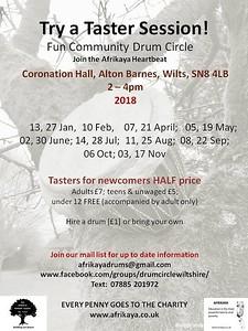 drum flyer2018