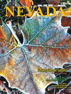Nevada Magazine Nov-Dec 2018 cover