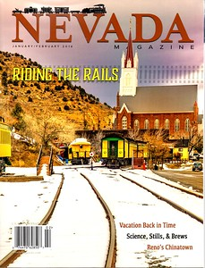 Honored to have my photo of Nevada City on the cover of NV Mag!