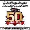 11-4-16 and 11-5-16 Dunedin High School 50 Class Reunion logo